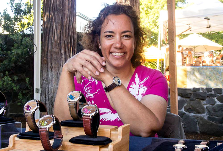 Celeste Wong of Celeste Watch Company
